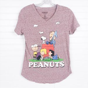 Peanuts Charlie Brown Snoopy Doghouse T-Shirt